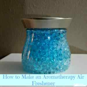 How to Make an Aromatherapy Air reshener