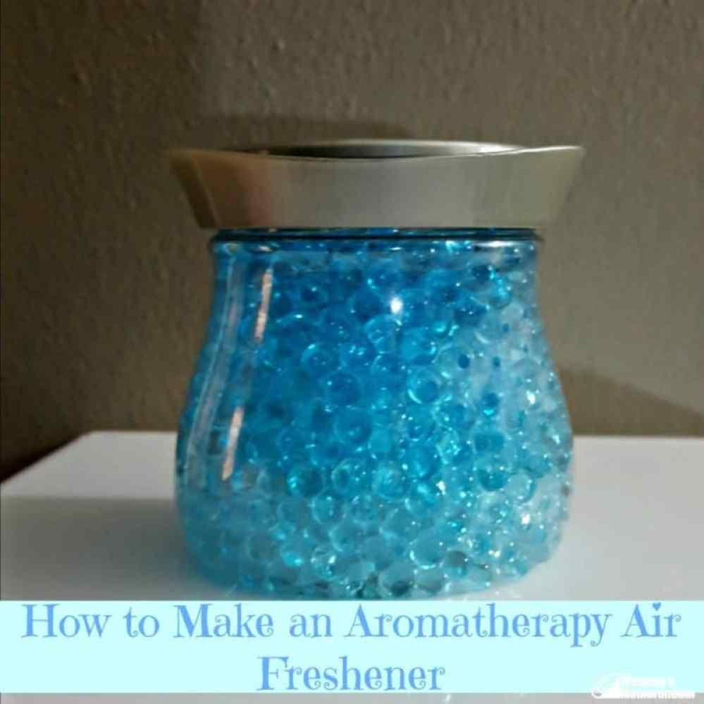 how to make an aromatherapy air freshener