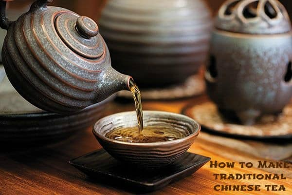 how to make traditional chinese tea