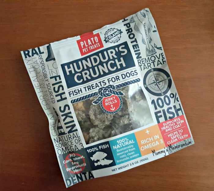 hundur's crunch dog treats bag