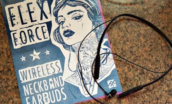 ifrogz flexx force wireless earbuds