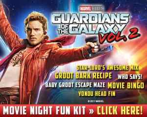 Guardians of the Galaxy Vol 2 Movie Night Kit
