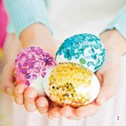 sparkling geods easter eggs