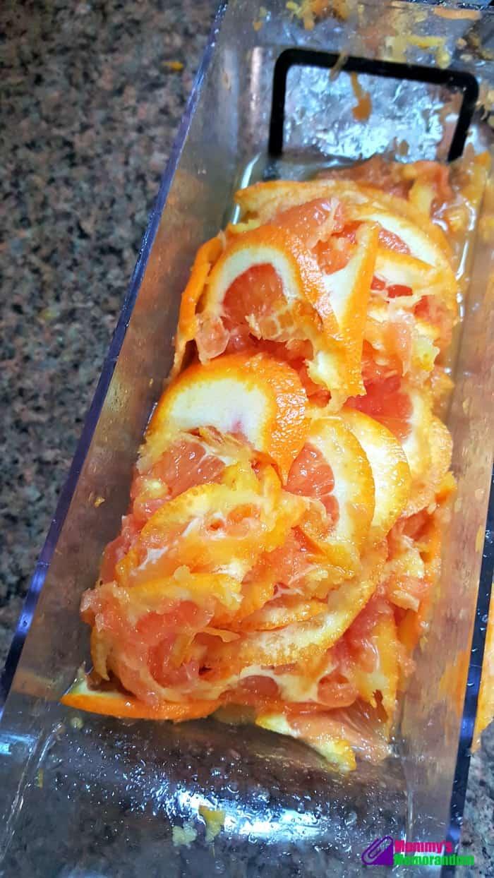 Instant Pot Orange Marmalade Recipe, instant pot orange marmalade sliced oranges in manoline