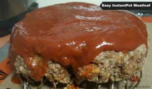 EASY Instant Pot Meatloaf Recipe