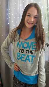 Mackenzie Ziegler for Justice Just Arrived #LiveJustice #ad