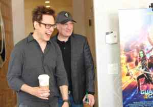 James Gunn & Kevin Feige Talk Taking Chances and Finding Passion with Guardians #GotGVol2Event