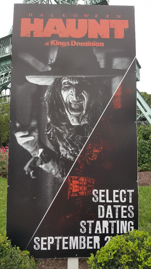 kings dominion haunt poster
