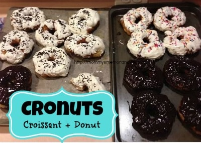 let's make cronuts