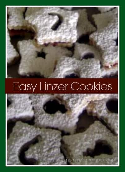 linzer cookies #recipes #holidaybaking #cookies
