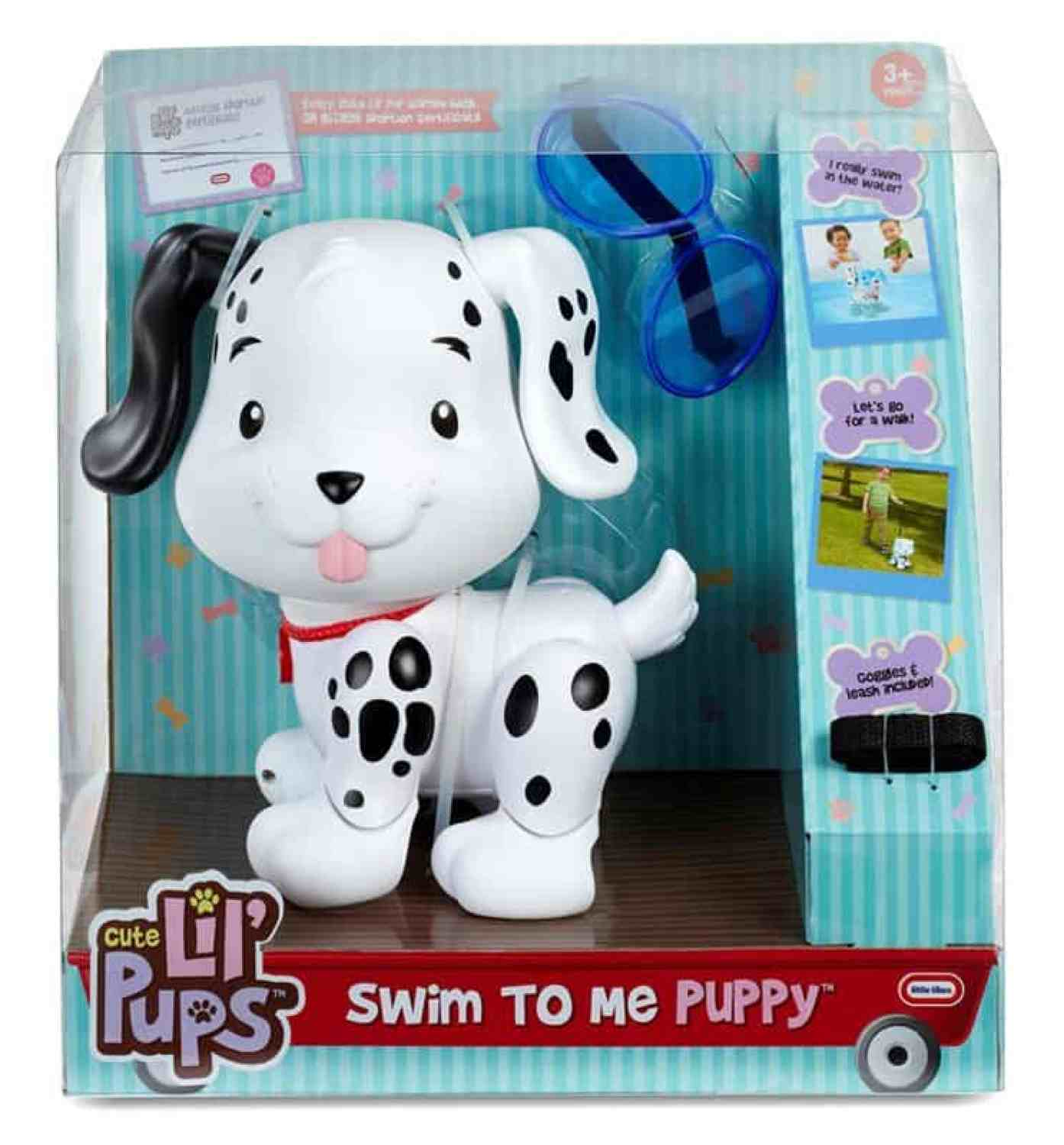 little tikes swim to me puppy in box