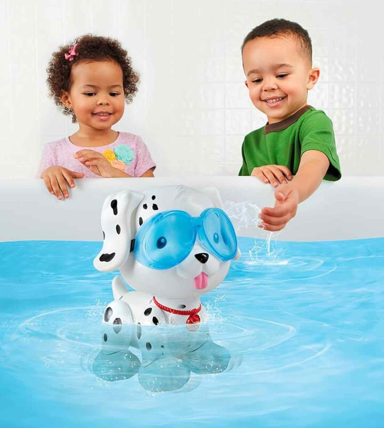 little tikes swim to me puppy swims