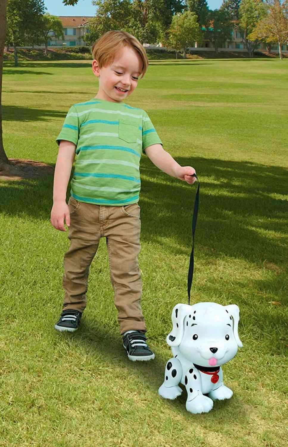 little tikes swim to me puppy walks with the leash