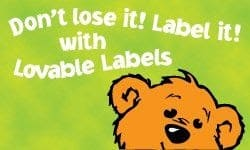 Giveaway: Lovable Labels (Closed)