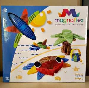 Magnaflex Bendable Oblong Magnetic Strips Made for Creative Play