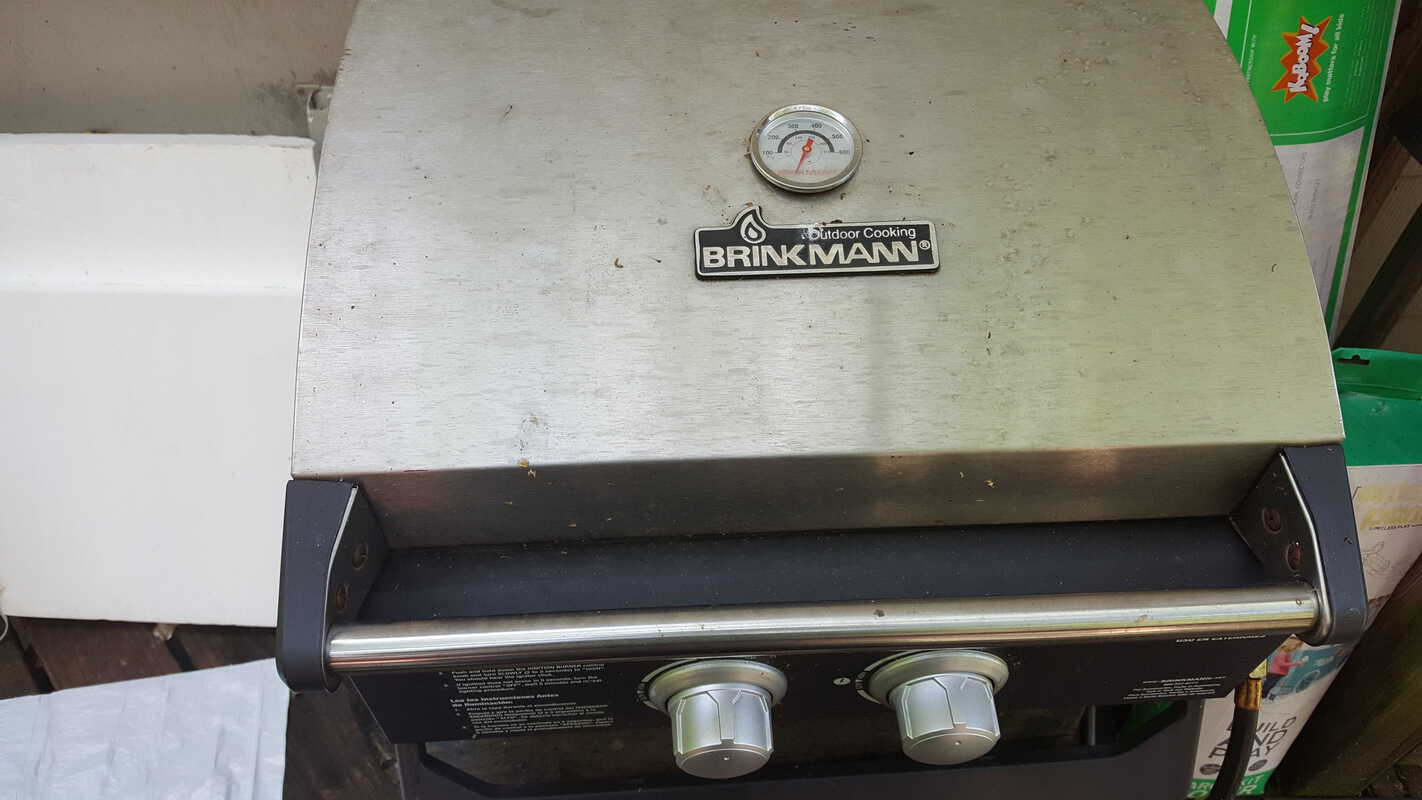 mean green auto and garage grill