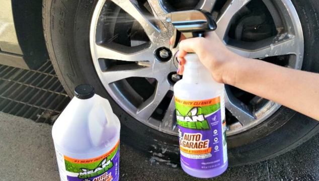 Mean Green Auto & Garage the Purple Stuff that Cleans!