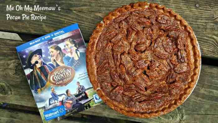 mee-maw's pecan pie recipe
