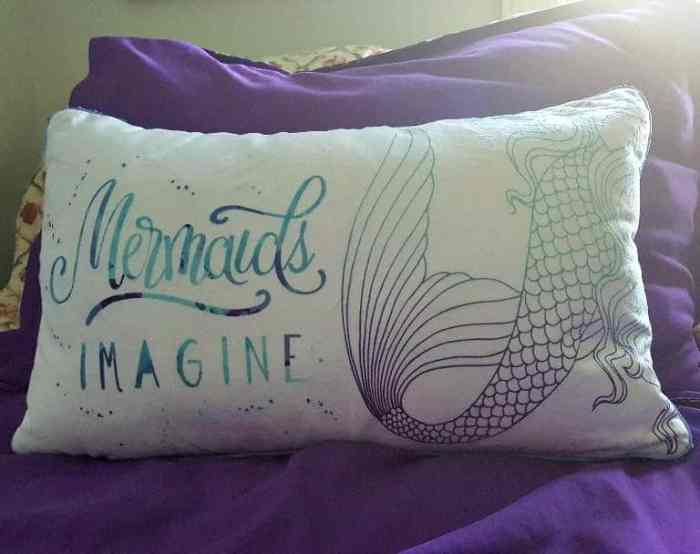 mermaid pillow from mermaid pillow co