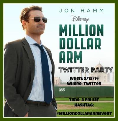#milliondollararmevent twitter party