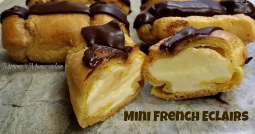 Easy Mini French Éclair Recipe