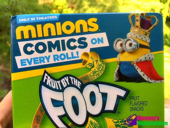 minions fruit by the foot