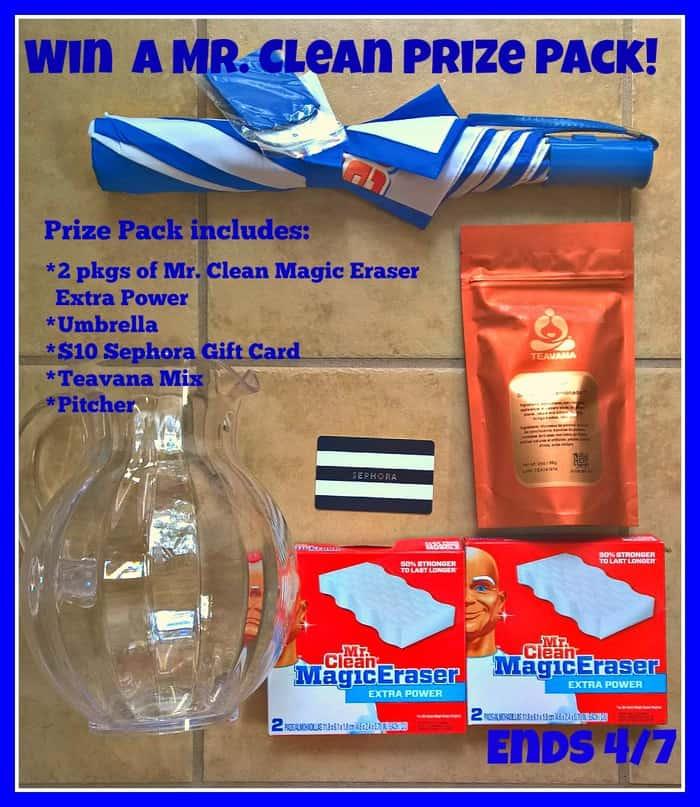 mr. clean prize pack