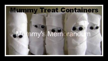 mummy treat favors Halloween Party Supplies