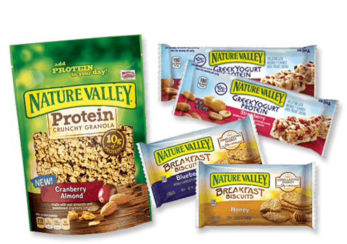 nature valley breakfast bisquits