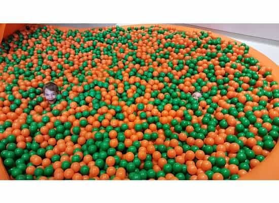 nickelodeon ball pit