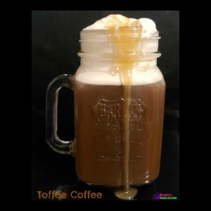 Too Good Toffee Coffee #Recipe