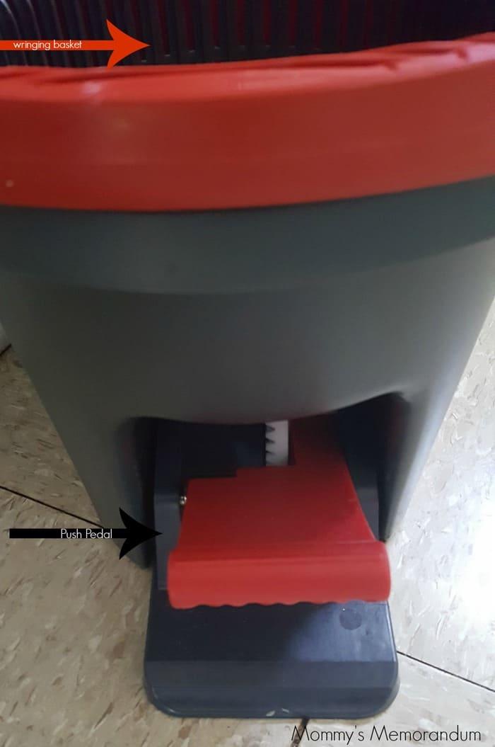 ocedar easywring pedal