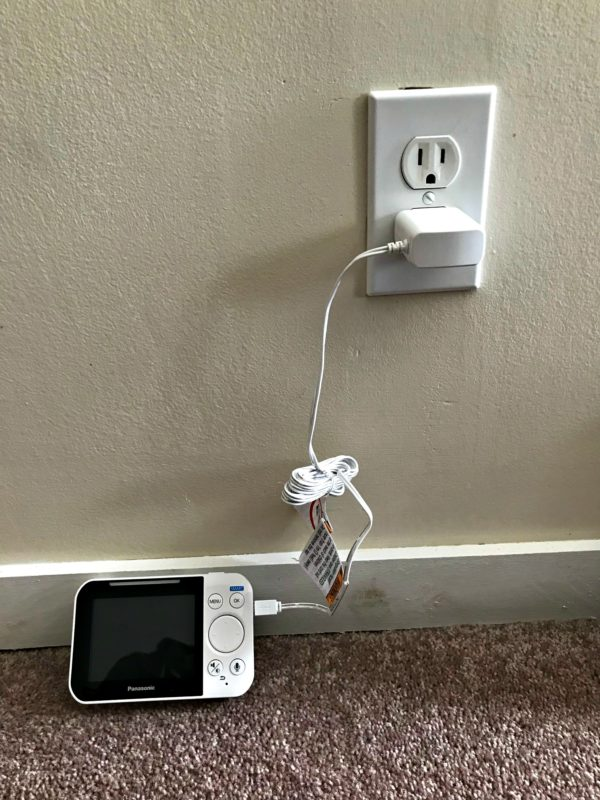 panasonic being charged