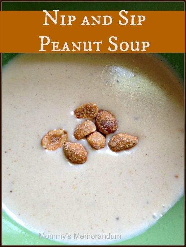peanut soup recipe