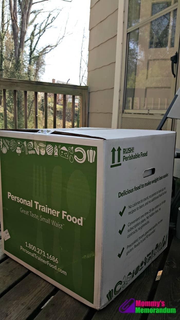 personal trainer food delivered to your door