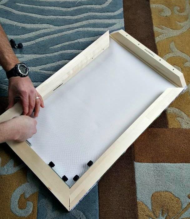 photowall canvas building the photo frame