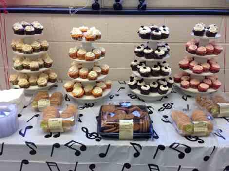piano recital cupcakes