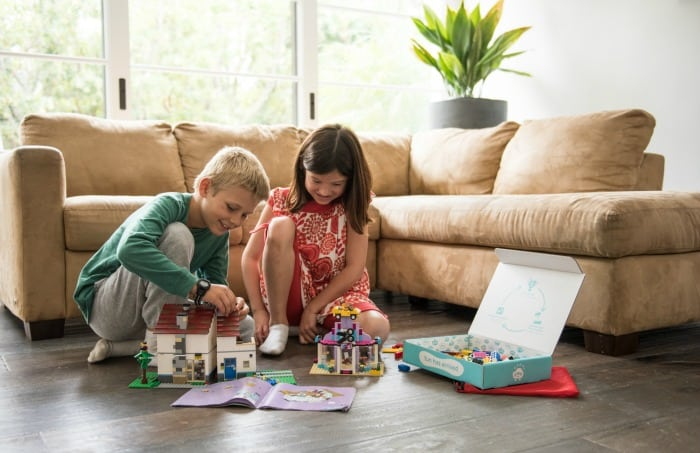 pley toy rental company reduces clutter