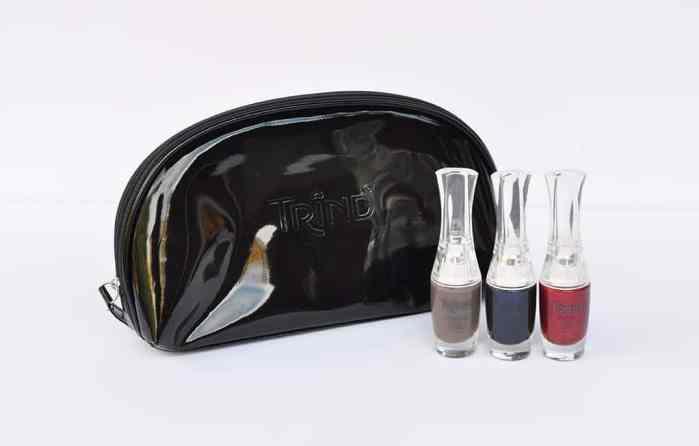 polishes and bag