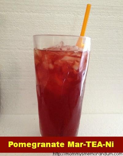 pomegranate mar-TEA-ni recipe
