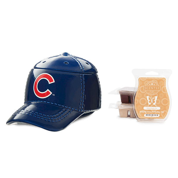 Father's Day Scentlsy MLB warmer with three free scent bars