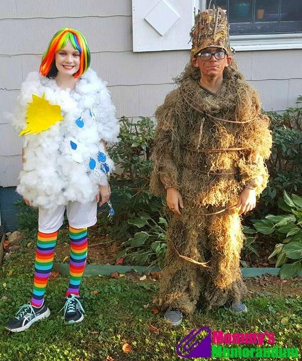 rainbow-and-groot-costume