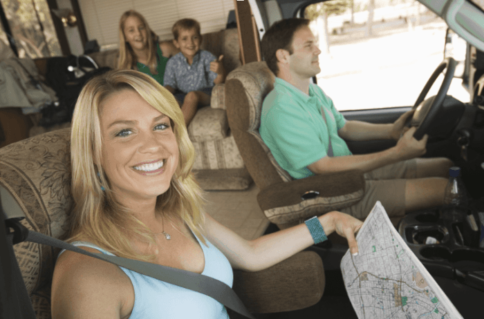 Family Plan! Travel Across the U.S. in your RV