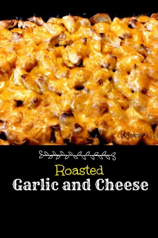 roasted garlic and cheese recipe
