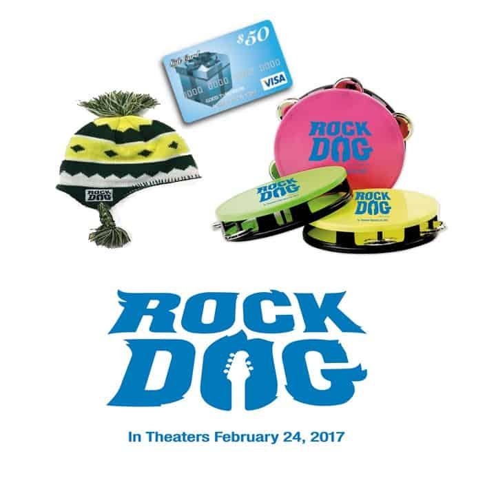 rock dog prize pack