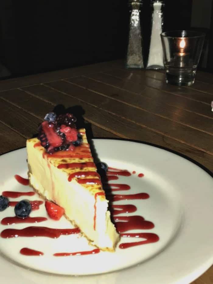 santa cruz dream inn cheesecake