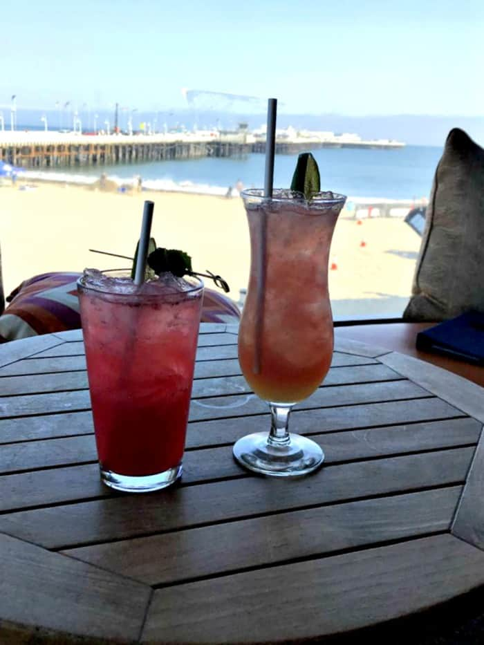 santa cruz dream inn cocktails from jack o neill lounge