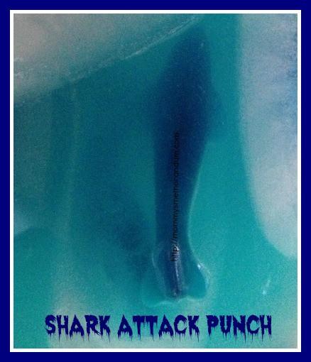 shark attack punch