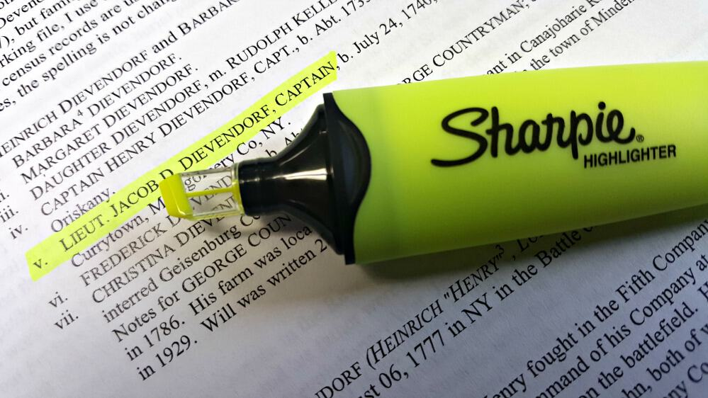 sharpie clear view highlighter know when to stop and start