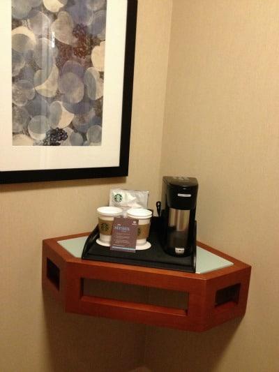 sheraton kansas city coffee
